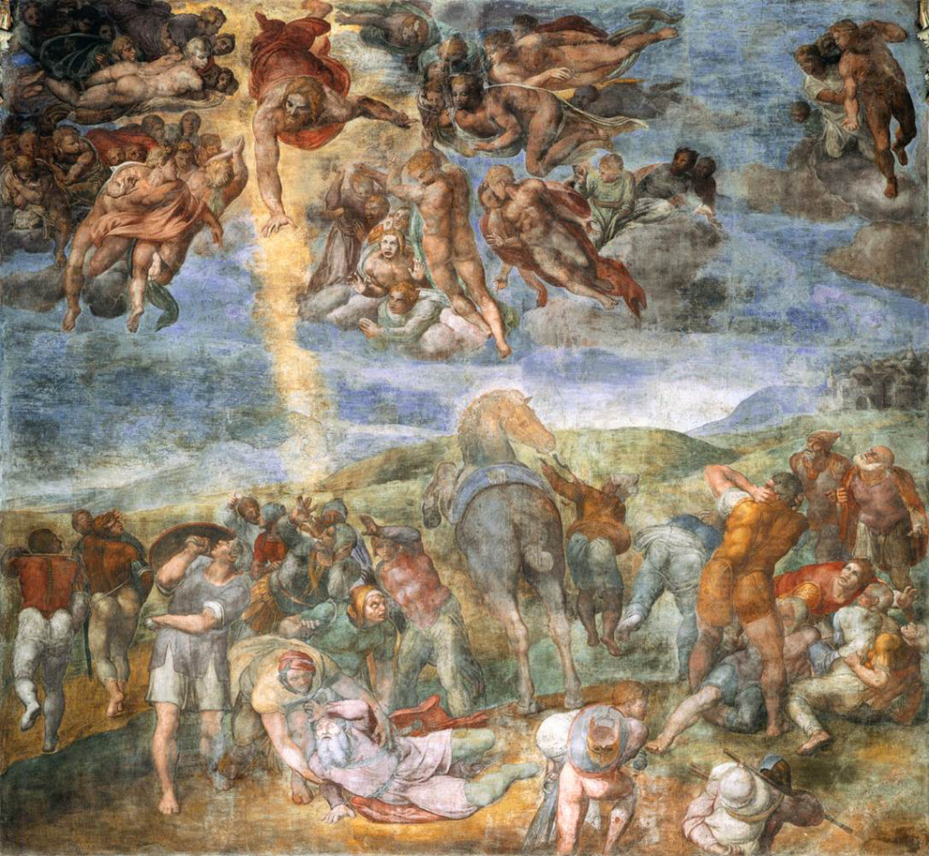 Michelangelo Buonarotti,  The Conversion of St. Paul, 1542–45