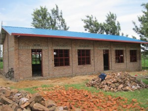 Rwanda School House Progress 1