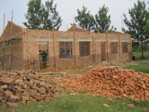 Rwanda School House Progress 2