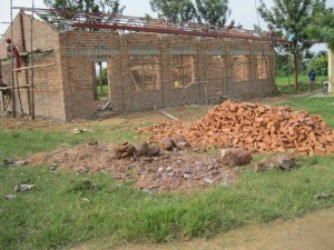 Rwanda School House Progress 3