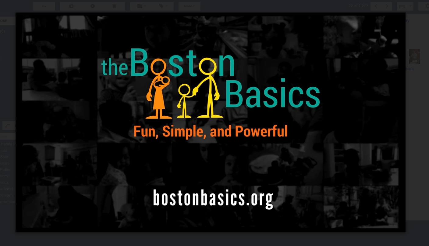 Boston Basics logo. boston.thebasics.org