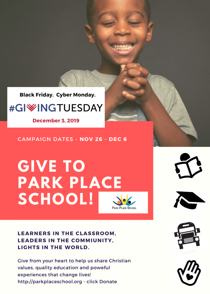 Give to Park Place School for #givingtuesday