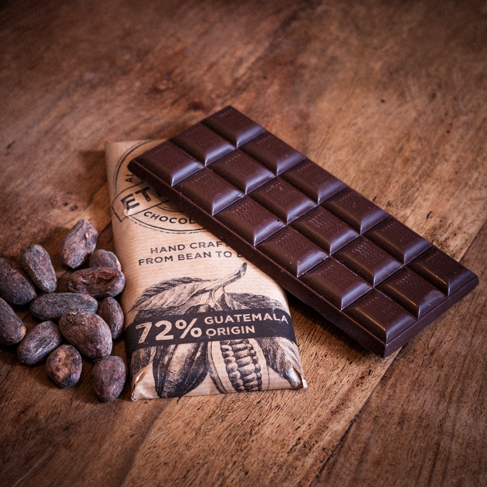 chocolate bar from Guatemals